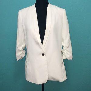 New Career Jacket/3Q Cream Size L